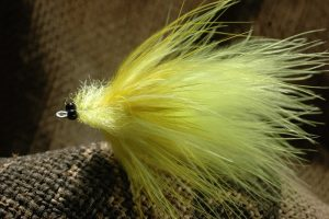 Marabou Toad, chartreuse