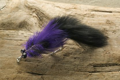 Bunny Toad, black and purple