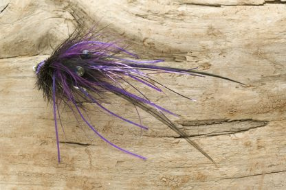 Floating Crab, black and purple