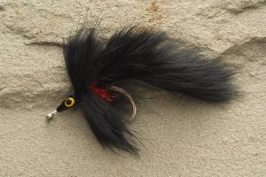 Rabbit Tarpon Fly, black