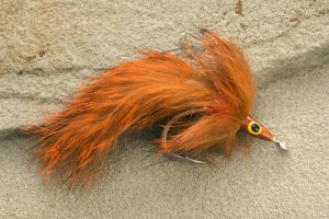 Rabbit Tarpon Fly, orange