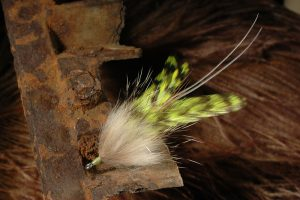 Badger Tarpon Fly, chartreuse