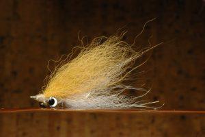 Mini Fox Clouser, tan