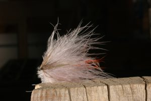 Softhackle Streamer, gray