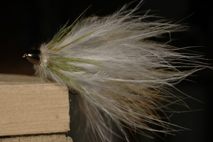 Softhackle Streamer, olive w/cone