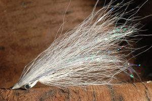 Clouser Minnow, white